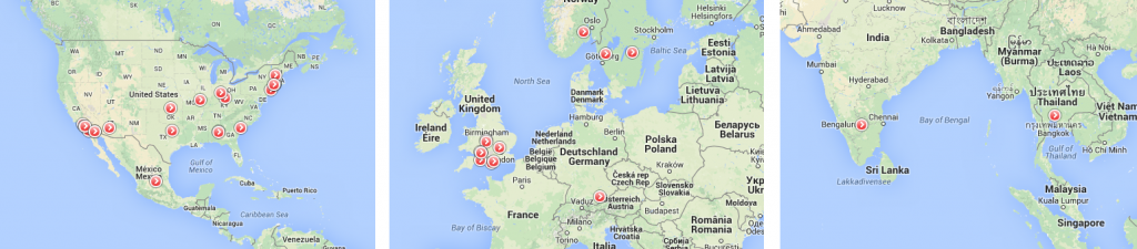 Our sites within GKN Aerospace according to: http://www.gkn.com/aerospace/aboutus/Pages/Where-we-operate.aspx