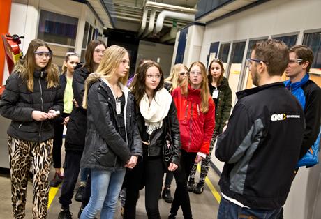 Magnus berättar om Industritekniska gymnasiet