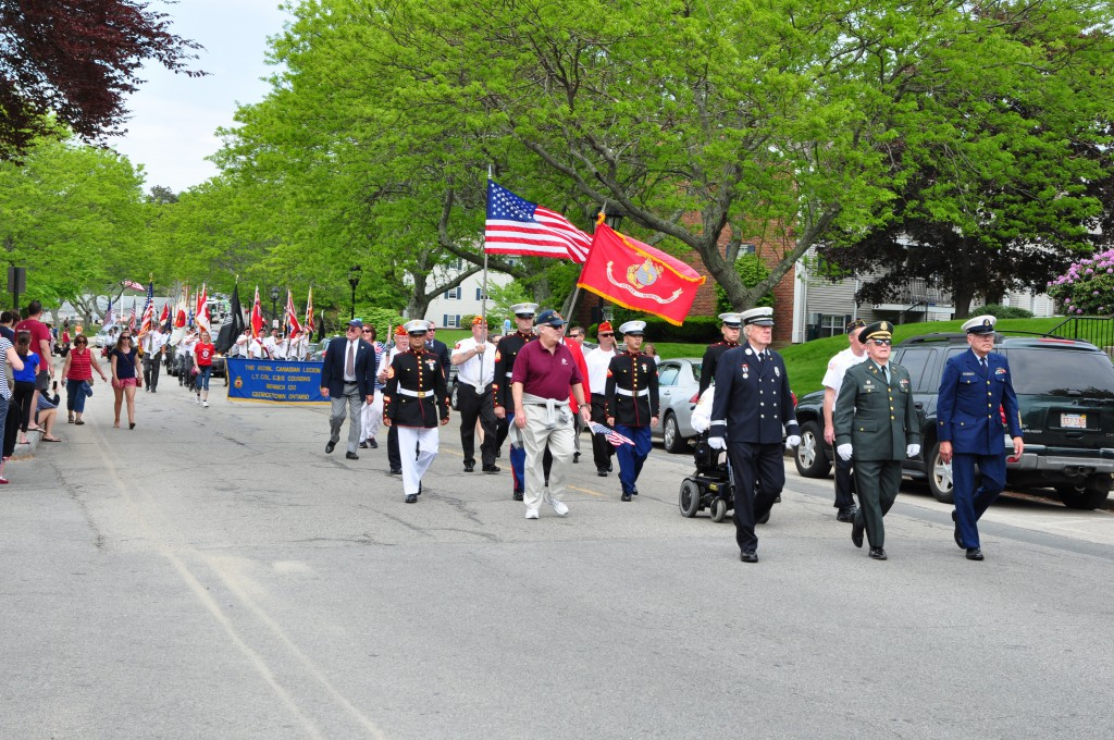 Memorial Day Parade in Plymouth
