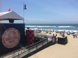 Vans US Open of Surfing, Huntington Beach.